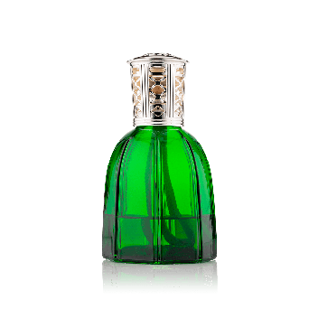 Empoli Green glass Lamparfum with Refill